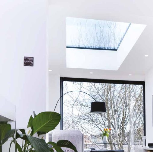Flat Rooflights - Open your home to the skies