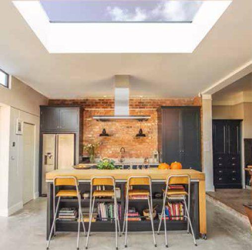 Flat Rooflights - Clean sleek lines