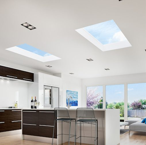 Flat Rooflights - Let the light shine in
