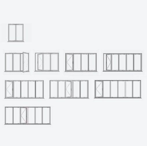 You configure – we manufacture your Bi-fold door