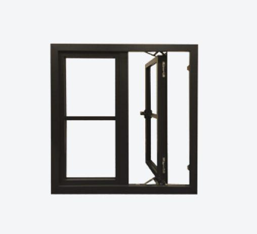 REAL Windows - Easy clean hinges