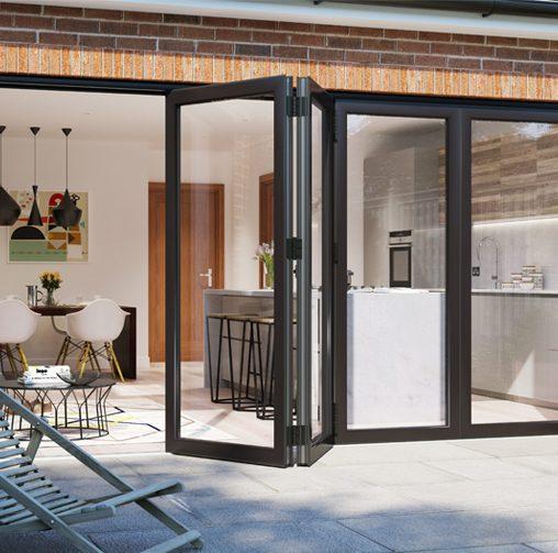 Warmcore Aluminium Bi Fold Door