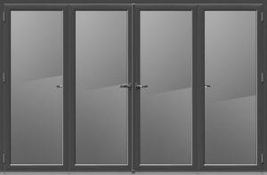 4 Panel Bi Folding Door
